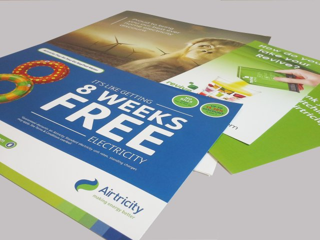 airtricity leaflets